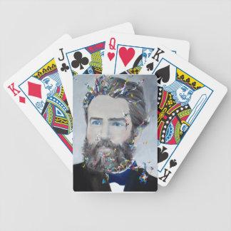 Baralho Herman Melville - retrato do óleo