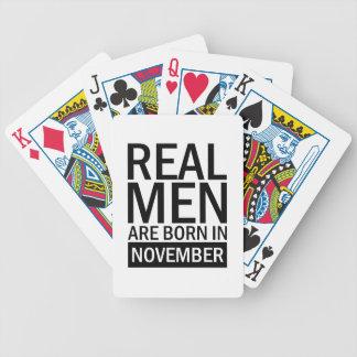 Baralho Homens reais novembro