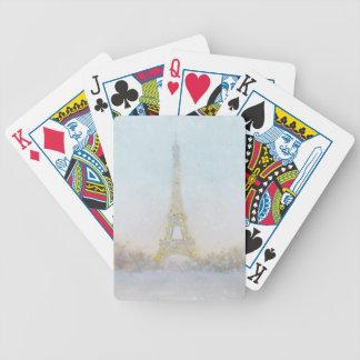 Baralho Imagem da aguarela | de Eiffel Towe