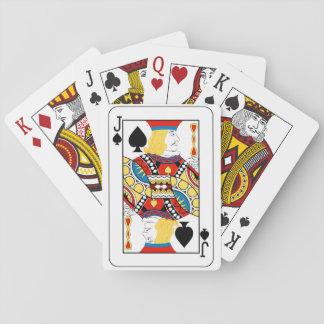 Baralho Jack de cartões de jogo das pás