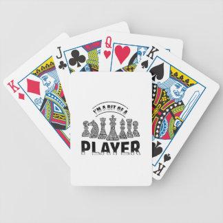 Baralho Jogador de xadrez