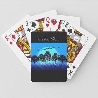 Baralho Jogando Cards-Template_Evening Glory_