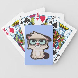 Baralho Kawaii, divertimento e cartões de jogo grimmy