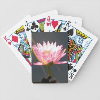 Baralho Lotus cor-de-rosa Waterlily