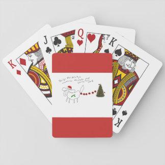 Baralho Margarida os cartões de jogo do Natal de Shih