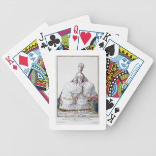 Baralho Marie Antoinette (1752-93) 'de DES Estam de