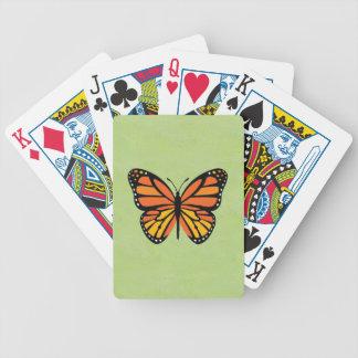 Baralho Monarca da borboleta colorido