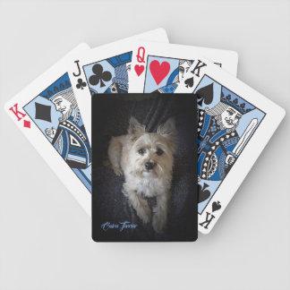 Baralho Monte de pedras Terrier - cartões de jogo do