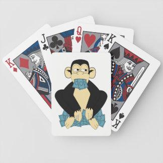 Baralho Não fale nenhum cartão de jogo mau