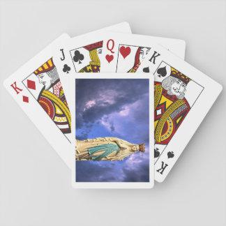 Baralho Nossa senhora de cartões de jogo clássicos de