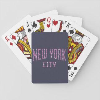 Baralho Nova Iorque no rosa do rosa do primavera
