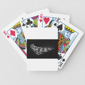 Baralho O conselho branco preto do rei xadrez das partes