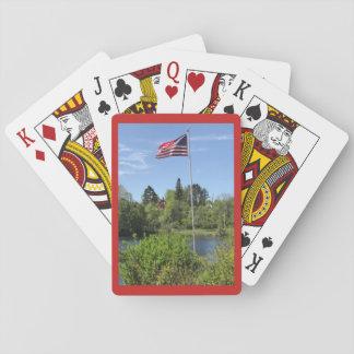 Baralho O parque nas quedas de cristal, cartões do