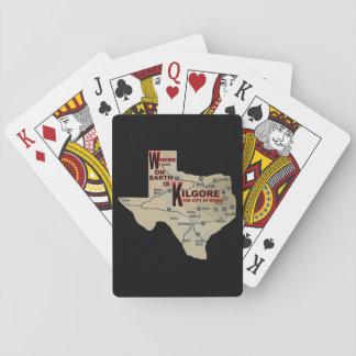 Baralho Onde em cartões de jogo de Earth_Kilgore