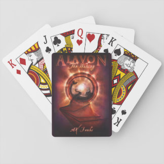 Baralho Os cartões de jogo do cobrir do acordo