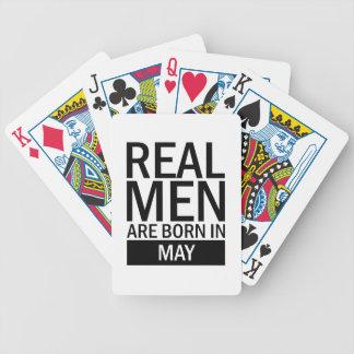 Baralho Os homens reais podem