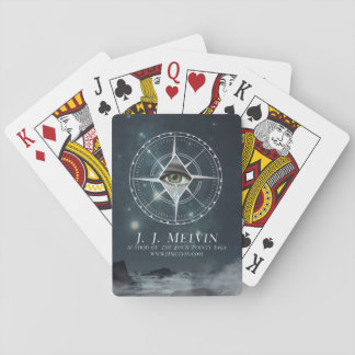 Baralho Os quatro pontos - cartões de jogo