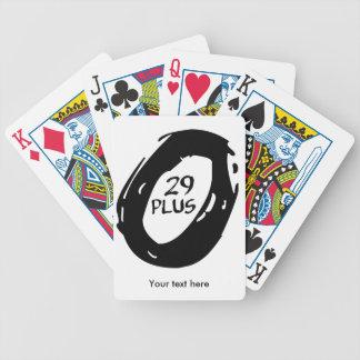 Baralho Para Poker 29+ bicicleta