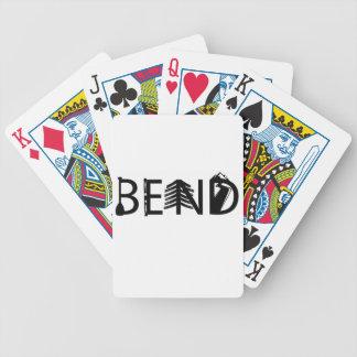 Baralho Para Poker A atividade exterior de Oregon da curvatura rotula