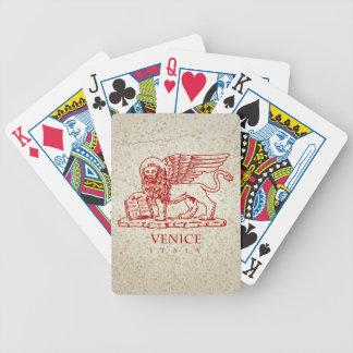 Baralho Para Poker A brasão de Veneza, Italia