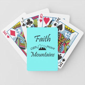 Baralho Para Poker A fé pode mover montanhas