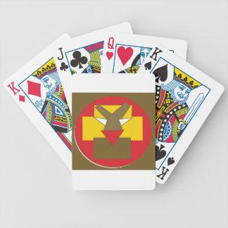 Baralho Para Poker A forma fez o leão