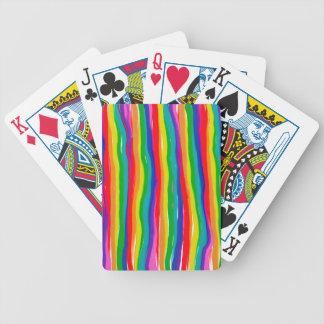 Baralho Para Poker Arcos-íris pintados