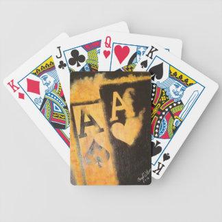 Baralho Para Poker Áss de Burnig