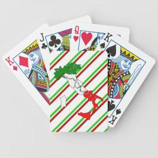 Baralho Para Poker Bandeira italiana das listras