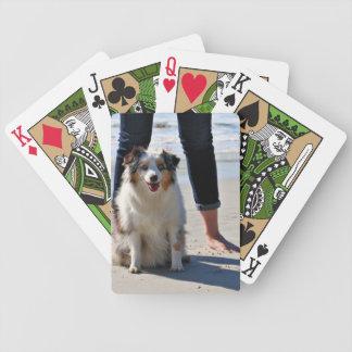 Baralho Para Poker Bennett - mini australiano - Rosie - praia de
