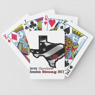 Baralho Para Poker Bk rd branco do design de Harvey