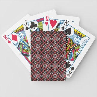 Baralho Para Poker Brancos preto e vermelho todos abaixo
