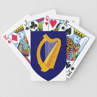 Baralho Para Poker Brasão de Ireland - emblema irlandês