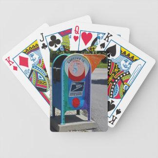 Baralho Para Poker Caixa postal da ilha de Captiva horizontal
