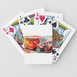 Baralho Para Poker Carro vermelho velho clássico