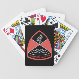 Baralho Para Poker Cartões de jogo da bicicleta do esquadrão 23 do