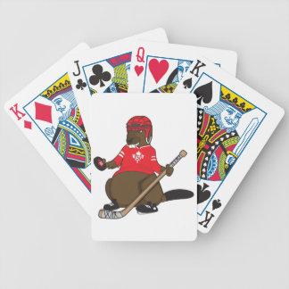 Baralho Para Poker Castor do hóquei de Canadá 150 em 2017
