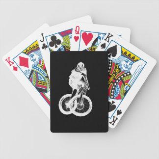 Baralho Para Poker CICLISTA do motociclista MTB BMX da montanha