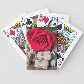 Baralho Para Poker CONVERSAS ROSA with cork