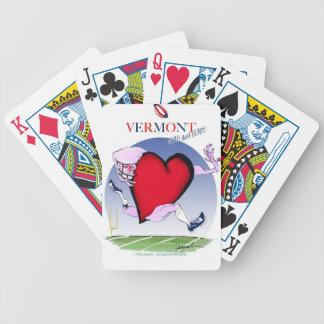Baralho Para Poker Coração principal de Vermont, fernandes tony