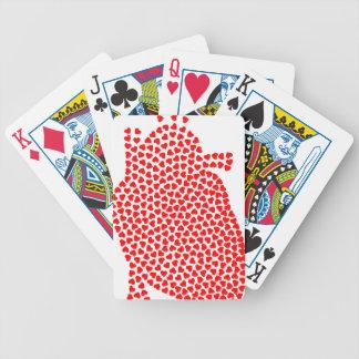 Baralho Para Poker Corações do coração