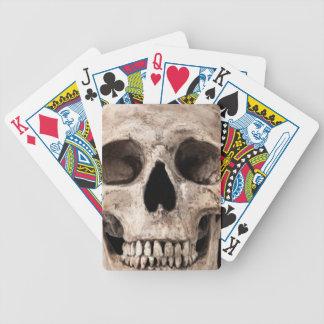 Baralho Para Poker Crânio velho resistido