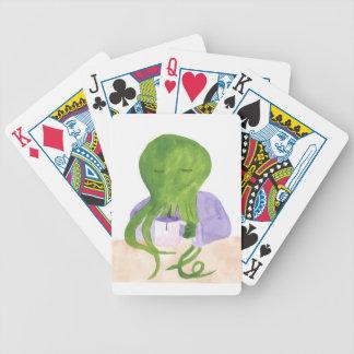 Baralho Para Poker Cthulhu tem um copo do chá