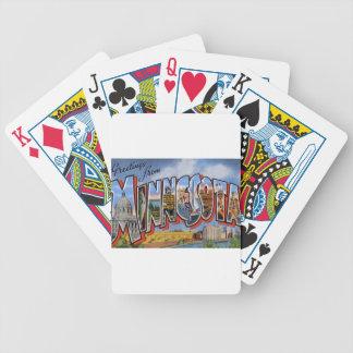Baralho Para Poker Cumprimentos de Minnesota