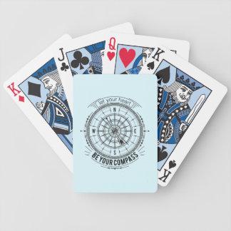Baralho Para Poker Deixe seu coração ser seu compasso