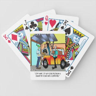 Baralho Para Poker Desenhos animados 8532 do reparo do carro