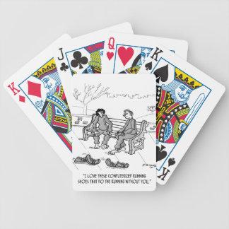 Baralho Para Poker Desenhos animados Running 2113