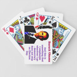Baralho Para Poker E este é algo que eu sublinho - Barack Ob