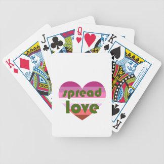 Baralho Para Poker Espalhe o amor lésbica