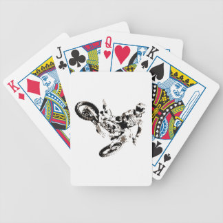 Baralho Para Poker Esporte de Motorcyle do motocross do pop art
